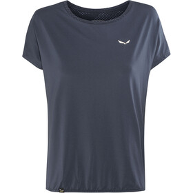 SALEWA Puez Hybrid Dry Camiseta Manga Corta Mujer, night black/8675